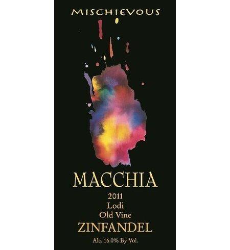 Macchia Mischievous Old Vine Zinfandel from Lodi California