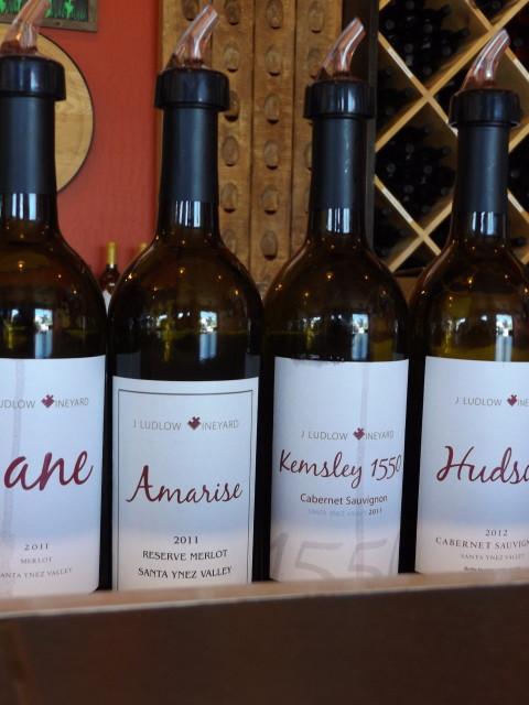 J. Ludlow California Wine Tasting
