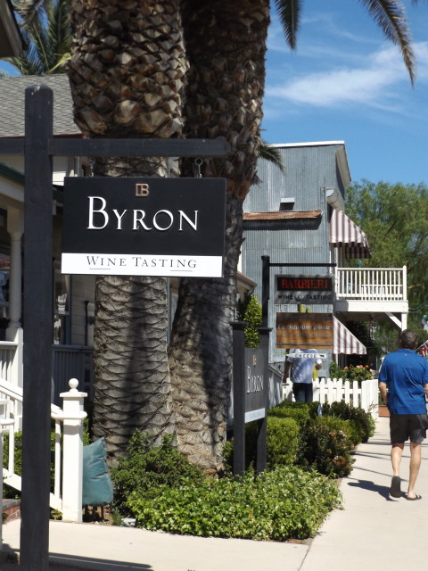 Byron California Wine Tasting Room