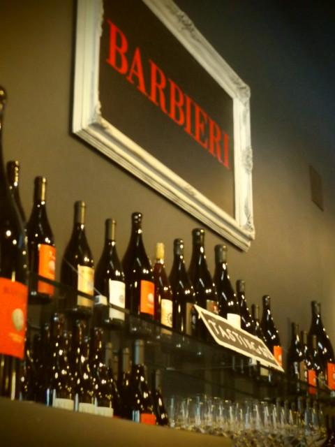 Barbieri Syrah Wine Tasting