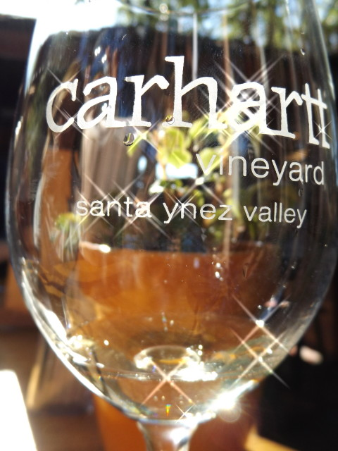 Carhartt Wine Glass