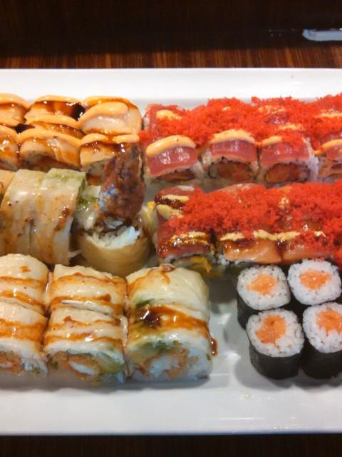 Sushi Mido sushi platter