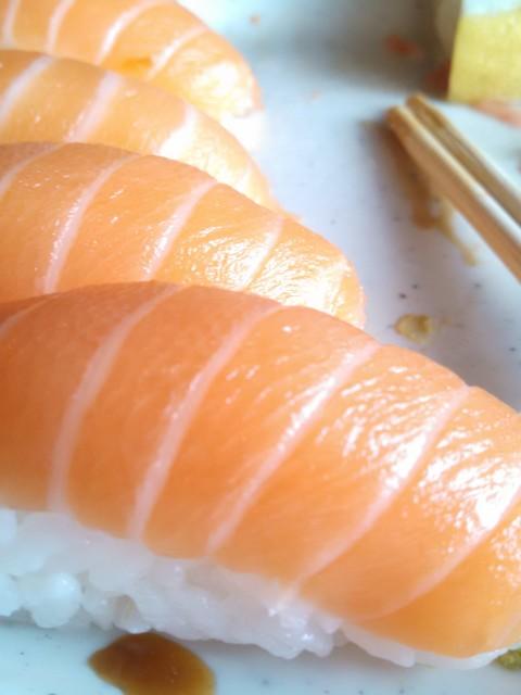 Legends of Asia Salmon Nigiri