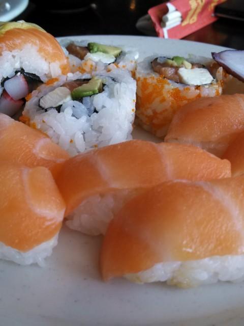Legends of Asia nigiri and rolls