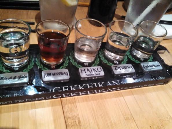 Sake Lounge Sake Taste