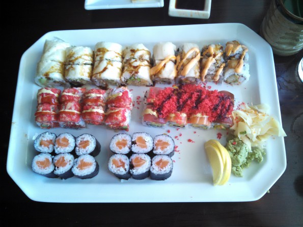 Sushi Mido six signature sushi rolls