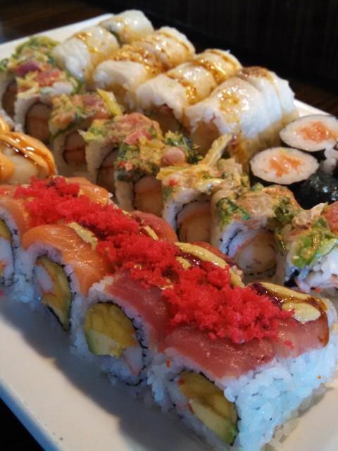 Sushi Mido rolls look really good