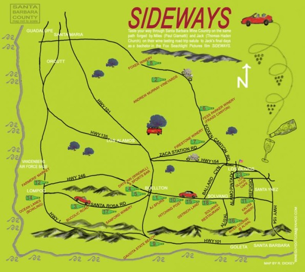 Sideways-map