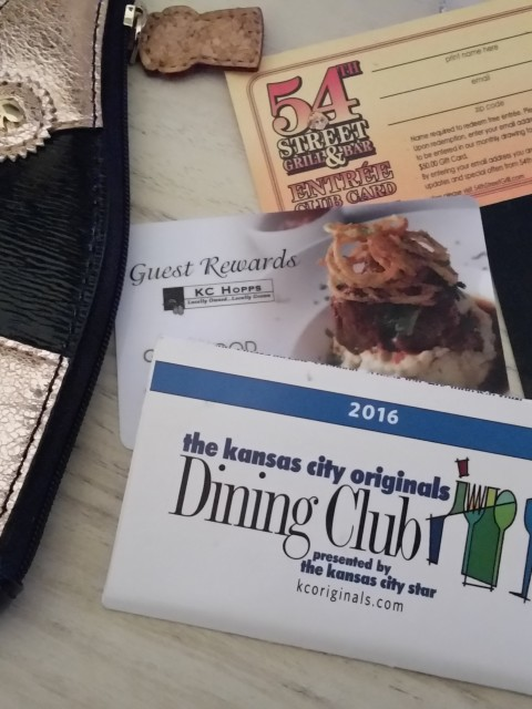 Kansas City Dining Discount Cards