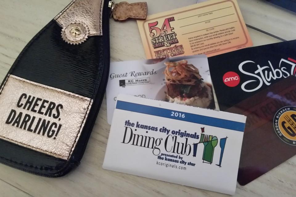 Kansas City Dining Discount Cards