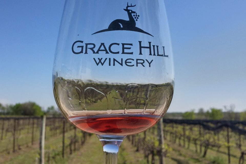 "Grace Hill Winery ""Tasting The Grapes"""