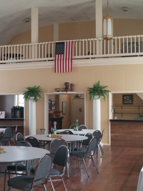 Terra Beau Winery & Vineyard - event space inside the church
