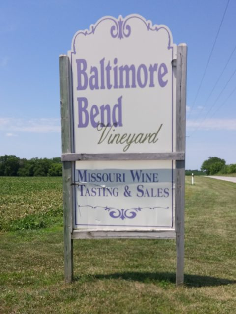 Baltimore Bend Vineyard on The Kansas City Wine Trail