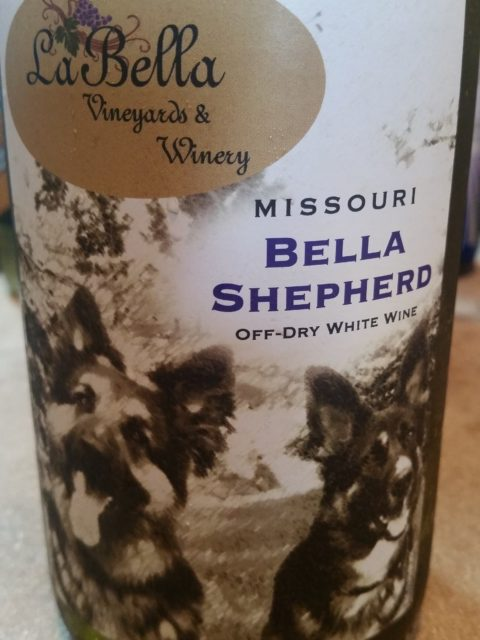 La Bella Vineyards & Winery - Bella Shepherd wine bottle