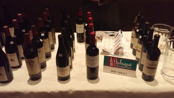 Dubuque Food And Wine 2016: Friday Night, Mississippi Moon Bar, Table 4