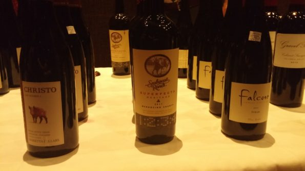 Marietta Cellars' Christo (Rhone Blend), Seabiscuit Ranch Superfecta Red Blend, Falcone Syrah 2014, Gravel Bar Cabernet Sauvignon