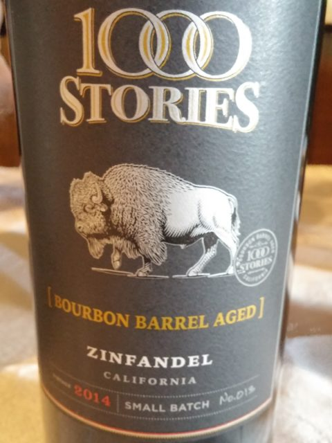 1,000 Stories Zinfandel Bourbon Barrel Aged