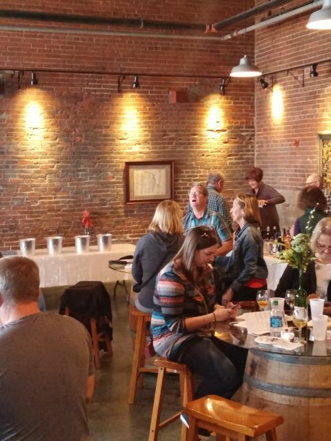 Dubuque Food & Wine Soup Off! indoor event area