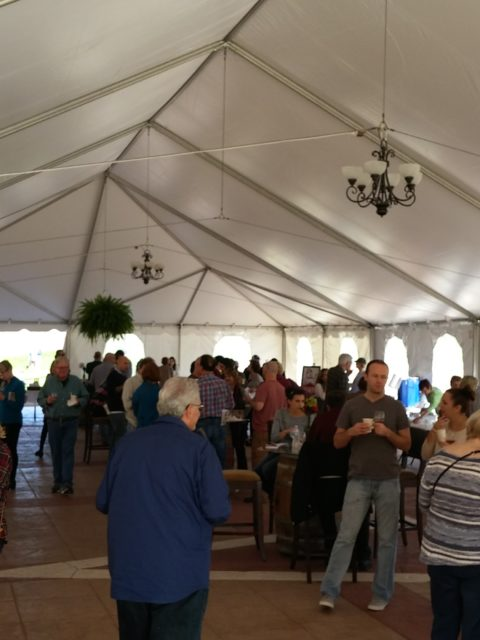 Dubuque Food & Wine Soup Off! outdoor event area