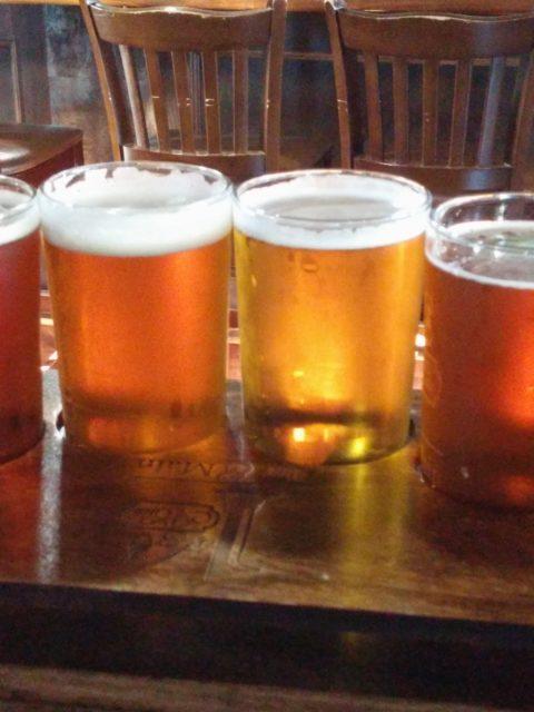 1st & Main Beer Flight