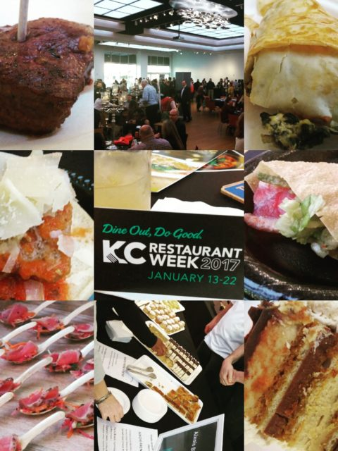 Kansas City Restaurant Week Kick Off Party Photo Montage by Impeccably Paired