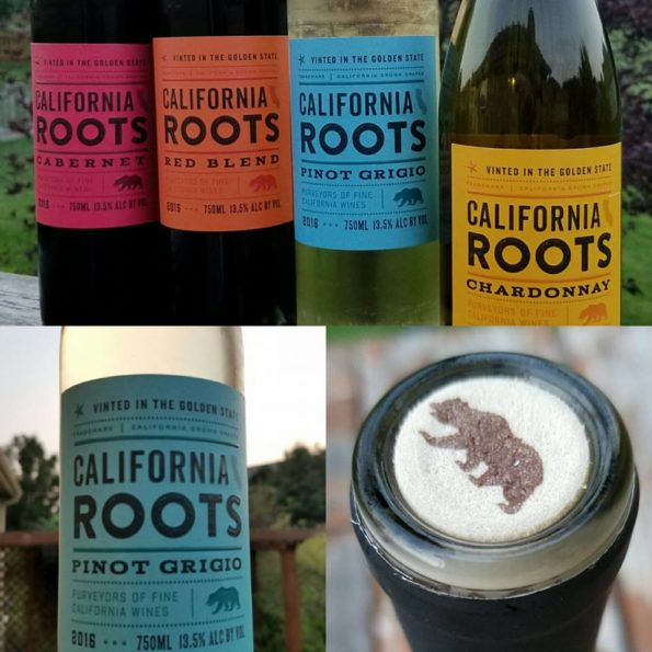 California Roots Wine Montage by Impeccably Paired