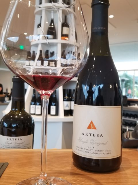 Artesa Estate Vineyards and Winery 2014 Sangiacomo Pinot Noir - Impeccably Paired