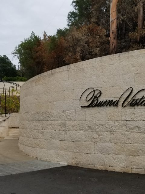 Buena Vista Winery Entrance - Impeccably Paired