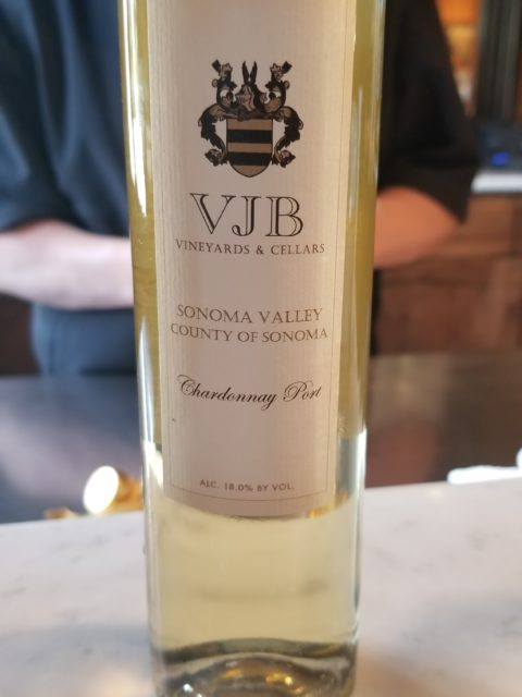 VJB Vineyards & Cellars Chardonnay Port - Impeccably Paired