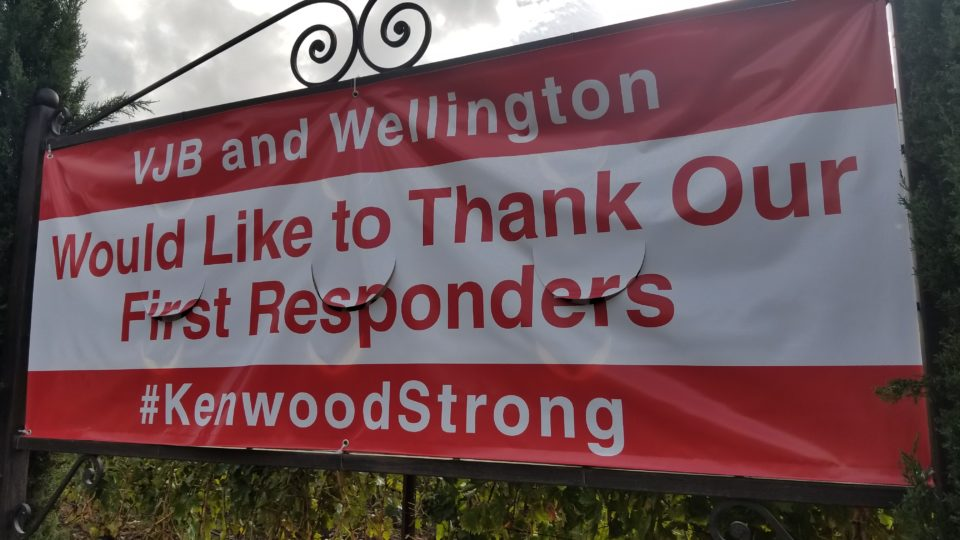 VJB and Wellington are #KenwoodStrong - Impeccably Paired