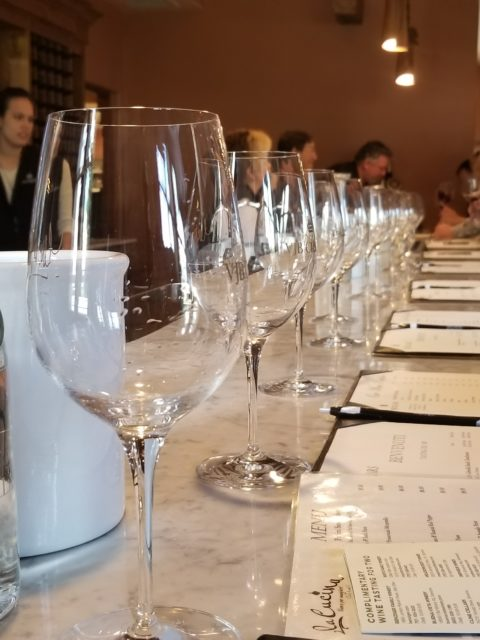 VJB Cellars wine tasting room - Impeccably Paired